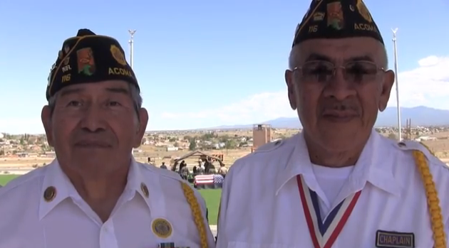 Acoma Pueblo 2013 Military Honors Competition – YouTube